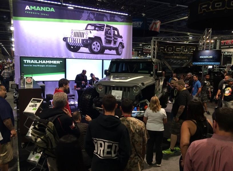 Amanda Products Introduces Suspension Concept at SEMA 2015