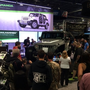 Amanda Products Introduces Suspension Concept at SEMA 2015