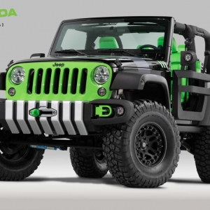Amanda Products returns to Jeep Beach for 2015 with their Spectator Recovery Station, exhibiting latest versions of SpeedHookTM and prototype Jeep parts