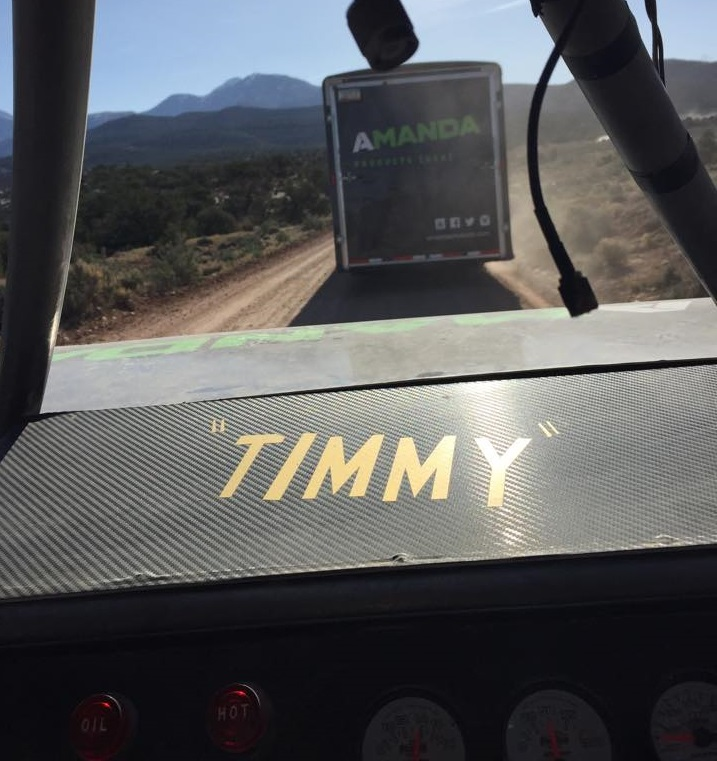 Timmy headed to Moab