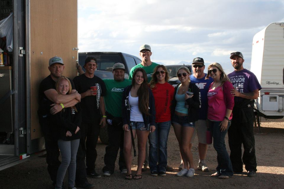 Dirt Riot Tucson group shot